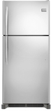 "FGTR2045QF Frigidaire 20.4 Cu. Ft. 30"" Wide Top Freezer Refrigerator with Custom flex Door - Stainless Steel"