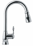 FHPD100 Franke Pull-Down Faucet - 1 Hole - Polished Chrome