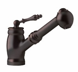 FHPS160 Franke Pull-Out Faucet - 1 Hole - Old World Bronze