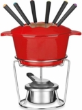 FP115RS Cuisinart 13-Pc. Fondue Set - Red