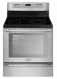 "FPEF3081MF Frigidaire Professional 30"" Freestanding Electric Range with Dual Convection - Smudge-Proof Stainless Steel"