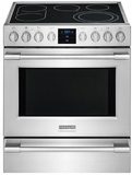 FPEH3077RF Frigidaire Professional 30'' Electric Front Control Freestanding with PowerPlus Convection - Stainless Steel
