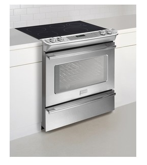 "FPES3085KF Frigidaire Professional 30"" Slide-In Electric Smoothtop Range - Stainless Steel"