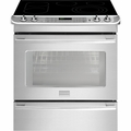 "FPES3085PF Frigidaire Professional 30"" Slide-in Electric Range with PowerPlus Dual Convection - Stainless Steel"