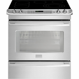 "FPES3085PF Frigidaire Professional 30"" Slide-in Electric Range with PowerPlus Dual Convection - Smudge-Proof Stainless Steel"