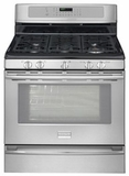 "FPGF3081KF Frigidaire Professional 30"" Freestanding Gas Range with Pro Cast SS Finish Knobs - Smudge-Proof Stainless Steel"