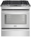 "FPGS3085PF Frigidaire Professional 30"" Slide-In Gas Range with Keep Warm Drawer - Stainless Steel"