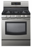 "FX510BGS Samsung 30"" 5.8 cu. ft. Freestanding Gas Range with Fan Convection - Stainless Steel"