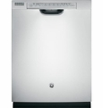 GDF540HSFSS GE Hybrid Stainless Steel Interior Dishwasher with Front Controls - Stainless Steel