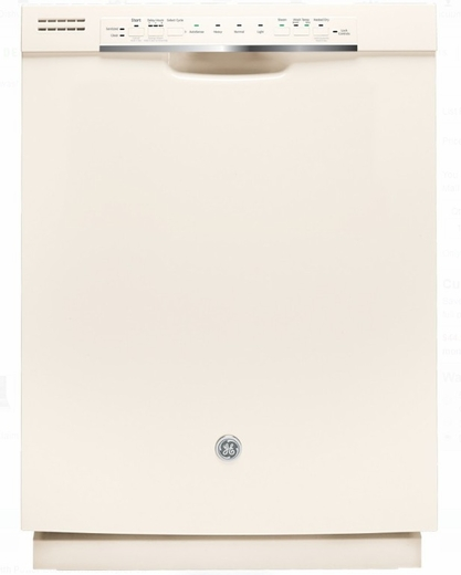 """GDF570SGJCC GE 24"""" Front Control Dishwasher With Stainless"""