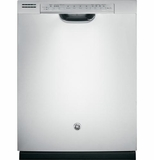 GDF570SSFSS GE Stainless Steel Interior Dishwasher with Front Controls - Stainless Steel