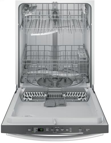 GDT545PSJSS GE Dishwasher With Hidden Controls & Steam
