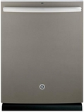 GDT590SMJES GE Stainless Steel Interior Dishwasher with Hidden Controls - Slate