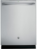 GDT590SSJSS GE Stainless Steel Interior Dishwasher with Hidden Controls - Stainless Steel