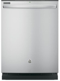 GDT635HSJSS GE Hybrid Stainless Steel Interior Dishwasher with Hidden Controls - Stainless Steel