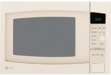 GE Countertop Microwaves - BISQUE