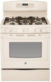 GE Freestanding Gas Ranges BISQUE