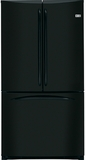 GE French Door Refrigerators - Black