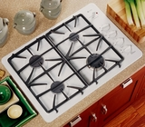 GE Gas Cooktops WHITE
