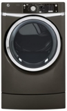 GFDR275EHMC GE 8.1 c.u ft. Capacity RightHeight Design Front Load Electric Dryer with Steam - Metallic