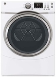 GFDS170EHWW GE 7.5 Cu. Ft. Capacity Frontload Electric Dryer with Steam - White