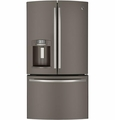 GFE29HMEES GE Energy Star 28.6 Cu. Ft. French-Door Ice & Water Refrigerator with TwinChill Evaporators - Slate
