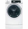 GFWR2700HWW GE Energy Star 4.5 DOE cu. ft. Capacity RightHeight Design Front Load Washer - White