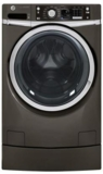 GFWR2705HMC GE 4.5 DOE cu. ft. Capacity RightHeight Design Front Load Washer - Metallic