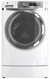 GFWR4800FWW GE 4.8 DOE Cu. Ft. Capacity Front Load Washer with Built-in Riser (Pedestal) - White