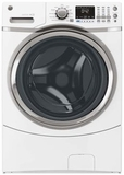 GFWS1700HWW GE Energy Star 4.3 DOE Cu. Ft. Capacity Frontload Washer with Steam Assist - White