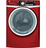 GFWS2605FRR GE ENERGY STAR 4.5 DOE cu. ft. capacity Front Load Washer with Steam - Ruby Red