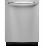 GLDT696DSS GE Built-In Dishwasher with Hidden Controls with Low Profile Installation - Stainless Steel