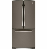 GNE22GMEES GE ENERGY STAR 22.1 Cu. Ft. Bottom-Freezer French-Door Refrigerator - Slate