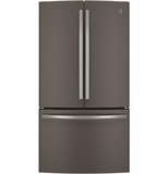 GNE29GMHES GE Energy Star 28.5 Cu. Ft. French-Door Refrigerator - Slate