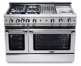 "GSCR486GN Capital 48"" Precision Pro Style Gas Convection Range 6 Burners & Griddle - Natural Gas - Stainless Steel"