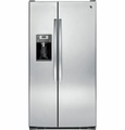GSE26GSESS GE ENERGY STAR 25.9 Cu. Ft. Side-By-Side Refrigerator with Dispenser - Stainless Steel