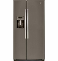 GSE26HMEES GE 25.9 Cu. Ft. Side by Side Refrigerator with Dispenser - Slate