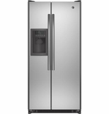 GSS20ESHSS GE 20.0 Cu. Ft. Side-By-Side Refrigerator - Stainless Steel