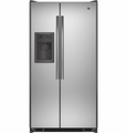 GSS25ESHSS GE 24.7 Cu. Ft. Side-By-Side Refrigerator - Stainless Steel