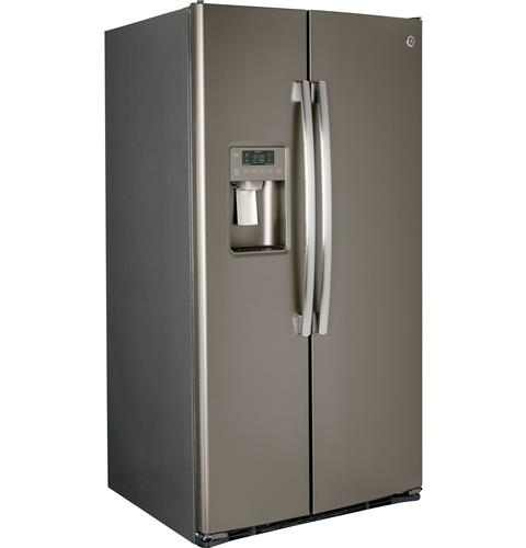 GSS25GMHES GE 25.4 Cu. Ft. Side-By-Side 36