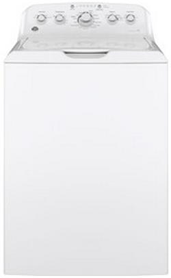 GTW460ASJWW GE 4.2 DOE cu. ft. Stainless Steel Capacity Washer with Speed Wash - White