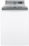 GTW810SSJWS GE 5.1 DOE Cu. Ft. Capacity Top Load Washer with Stainless Steel Basket - White
