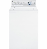 GTWN4250DWS GE 3.9 Cu. Ft. Stainless Steel Capacity Washer - White