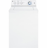 GTWN4950FWW GE 4.0 DOE Cu. ft. Stainless Steel Cylinder Top Load Washer - White