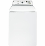 GTWN7450HWW GE 5.0 DOE Cu. Ft. Capacity Top Load Washer with Stainless Steel Basket - White