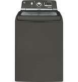 GTWS8355HMC GE 5.0 Cu. Ft. Capacity Washer with Stainless Steel Basket & Steam - Metallic