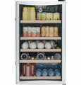 GVS04BDWSS GE Freestanding Wine and Beverage Cooler with Upfront Electronic Controls - Stainless Steel