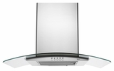 "GXW6536DXS Whirlpool 36"" 400 CFM 3 Speed Canopy Wall Hood - Stainless Steel"