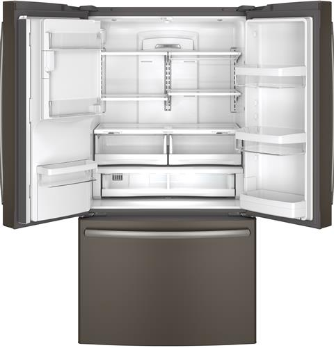22 1 Cu Ft French Door Refrigerator: GYE22KMHES GE Energy Star 22.1 Cu. Ft. Counter Depth