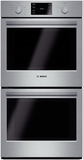 "HBN5651UC Bosch 500 Series 27"" Double Electric Wall Oven with Thermal Cooking - Stainless Steel"